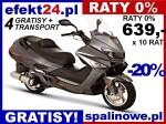skuter maxiskuter MAXI 250 ROMET Kaski Raty 0% Transport